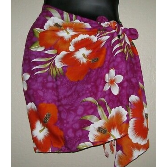 Sarong soft and easy to wear.
